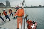 豊中市水難救助訓練風景